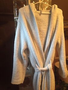 Plush Light Blue Housecoat with new slippers