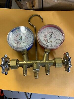 Robinair Two-way Wheel Manifold Gauge Set