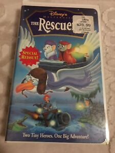 Disney's Masterpiece The Recuers VHS