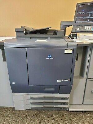 Konica Minolta Bizhub Pro C6000 Copier Printer Scanner