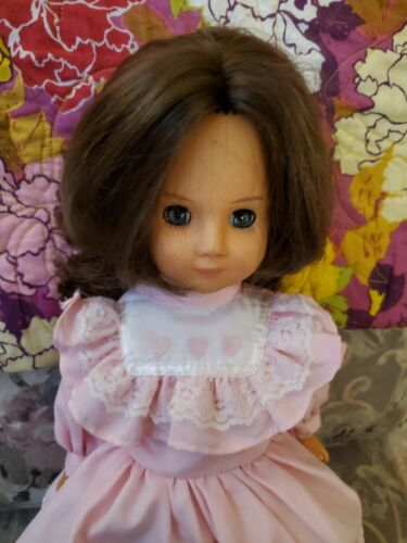 15 Inch Vinyl Vintage Doll Lisa From My Haunted Doll Collection - $27.00