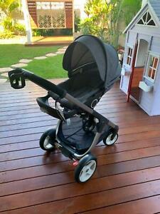 Stokke Crusi Grey Melange Prams Strollers Gumtree Australia