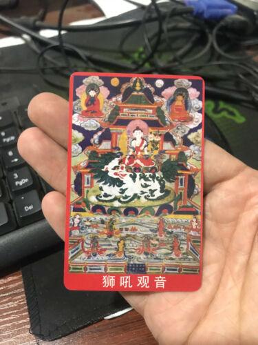 china hand made tangka card q008 hot