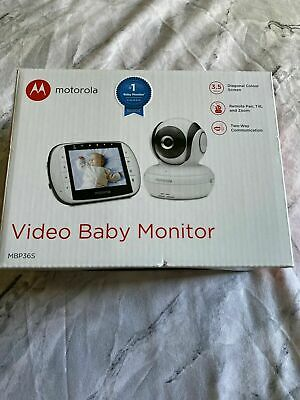 Motorola MBP36S Digital Video Baby Monitor.