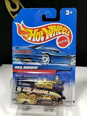 1999 HOT WHEELS RAIL RODDER ENGINE 5 - P2