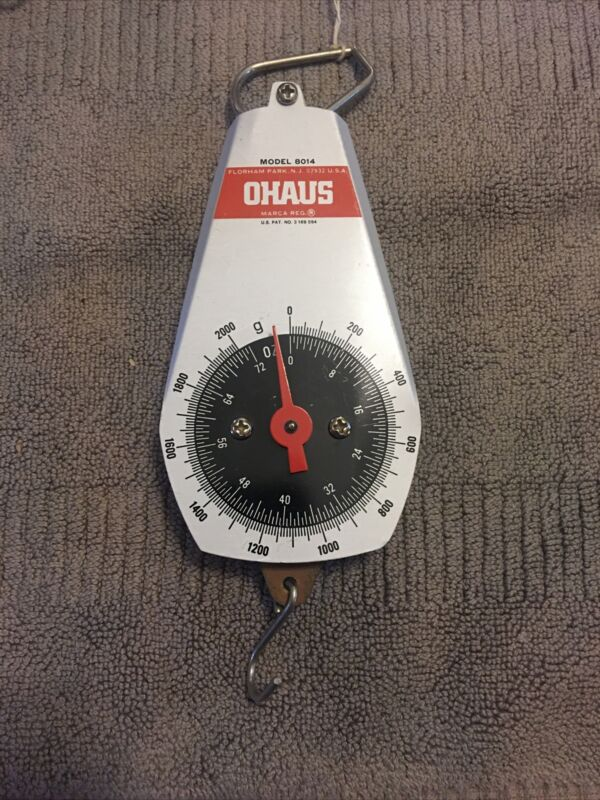 Ohaus 8014 Dial Spring Mechanical Scale,