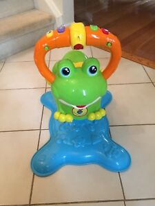 Bounce and spin frog