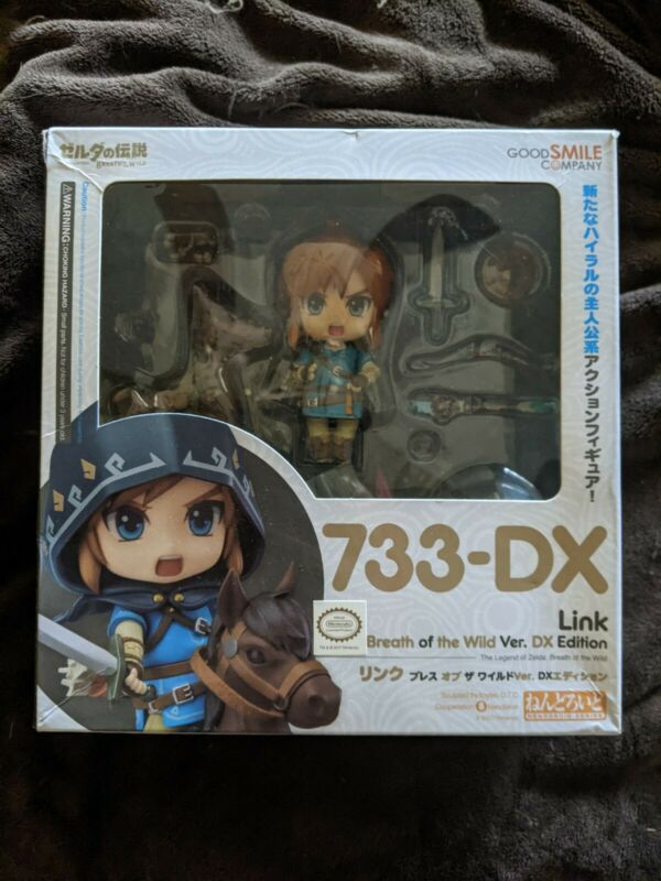 nendoroid 733 Link breath of the wild DX Edition PREOWNED AUTHENTIC