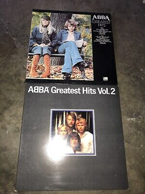 ABBA Greatest Hits Volumes 1 & 2  Lp Records EX