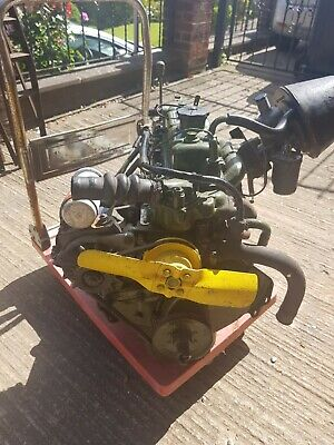Morris Minor 1098  engine and gearbox complete unit ready to put into car