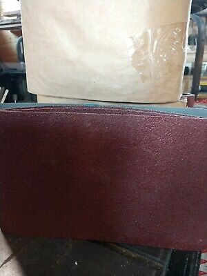 "Blue Zirconia 8/"" x 29.5/"" 120 Grit Sanding Belts Hummel Bona /& More Box of 10"