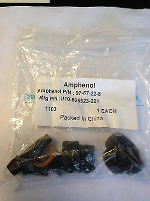 Amphenol Cable Clamp 97-67-22-8