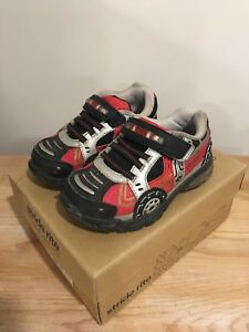 Stride Rite Light Up Firetruck Runners - Size 6W