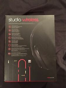 New beats studio wireless