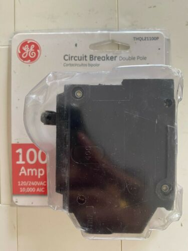 GE  THQL21100P 100 Amp 2 in. Double-Pole Electrical Circuit Breaker