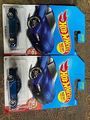 2017 Hot Wheels '95 Mazda RX-7 FD Then and Now 3/10 Lot of 2