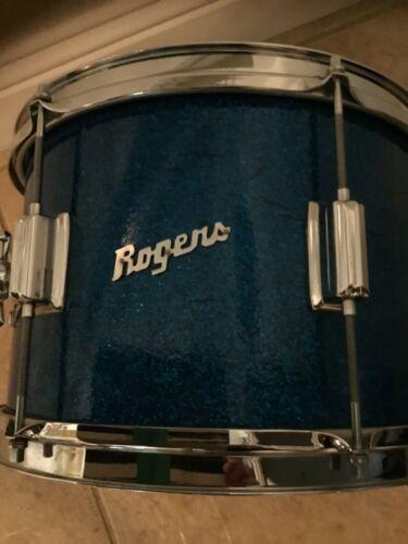 ROGERS RACK TOM BLUE SPARKLE 12 X 8 SERIAL NUMBER 5674