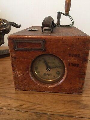 Vintage Racing Pigeon Time Clock