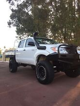 Lifted Toyota hilux  Herne Hill Swan Area Preview
