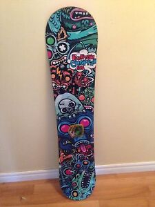 Burton Chopper snowboard-130cm (comes with stomp pad)