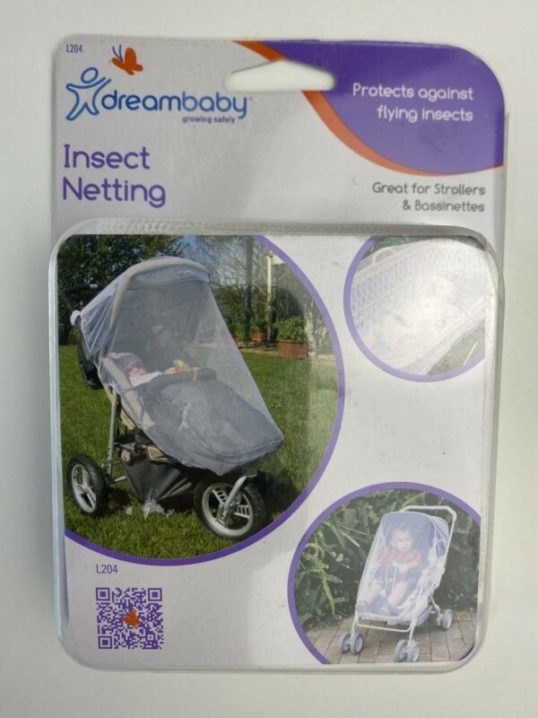 Dreambaby Insect Netting Stroller Bassinet Protection Safety New