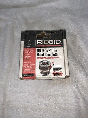 Ridgid 12-r 12 Die Head Npt High Speed Threading Die Threader And Handle