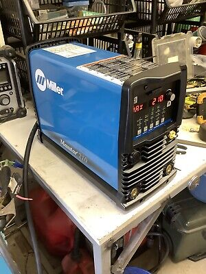Miller Electric 907684 Tig Welder266a38 Lb.1 To 210a