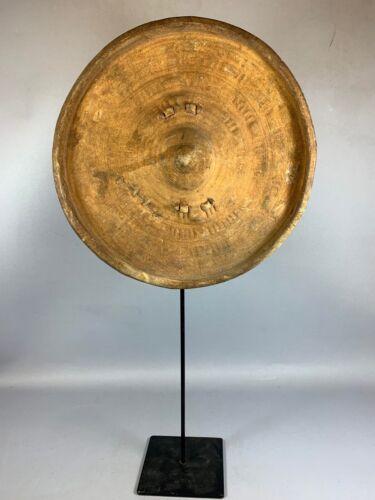 210242 - Tribal Used African Ethiopian Amhara shield - Ethiopia