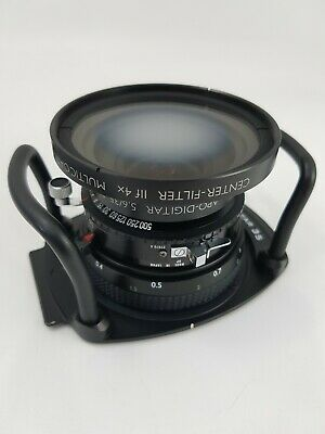 Schneider APO-DIGITAR 35mm f5.6 XL with Center Filter IIf 4X for Cambo WDS /WRS