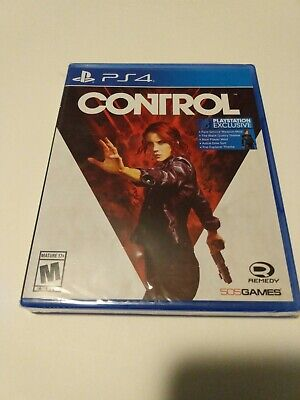 Control (PlayStation 4, 2019) PS4 Exclusive Game Brand New Factory Sealed