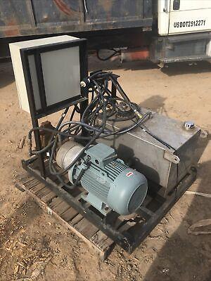 Electric Industrial Hydraulic Pump W Reservoir