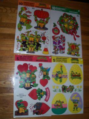 Ninja Turtle Holiday Decoration 23.5 x 14.5  Eureka Velvet Soft U Pick NOT a LOT](Ninja Turtle Decoration)