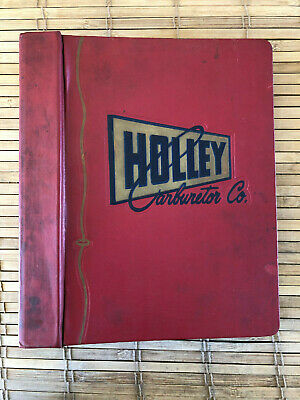 1959 HOLLEY CARBURATOR CO SERVICE AND OVERHAUL BOOK HC-SO-500, EXCELLENT!!!!