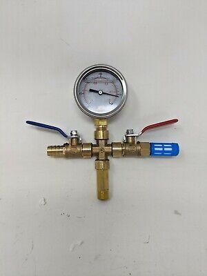 Haocheng 14 Bar 100xkpa Inhg Pressure Valve For A Vacuum Chamber Kit