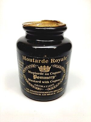 French Cognac Mustard by Pommery 8.8 oz. Exquisite!