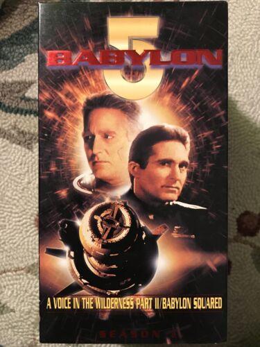 New Babylon 5 Volume 1.11 VHS Sci-Fi Thriller, Voice In Wilderness, TV - $0.99