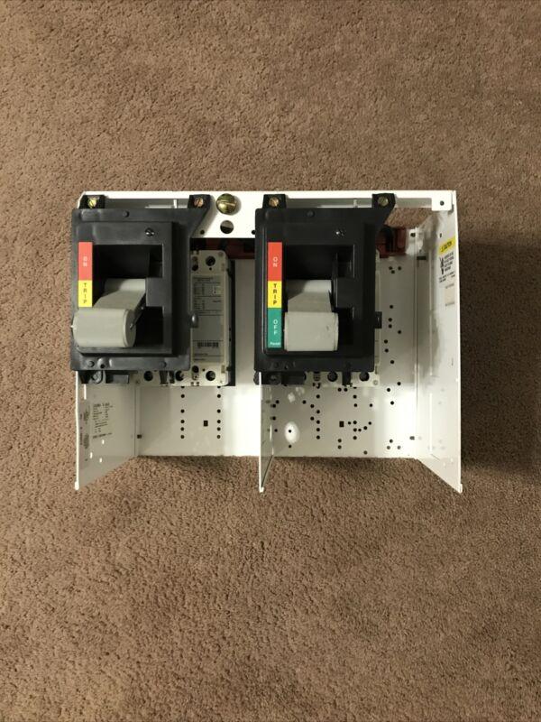 NEW EATON CUTLER HAMMER Dual MCC Bucket w/ 15 AMP Breakers
