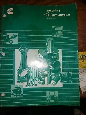 4b 4bt 4bta3.9 Parts Catalog Cummins Diesel 580l Case