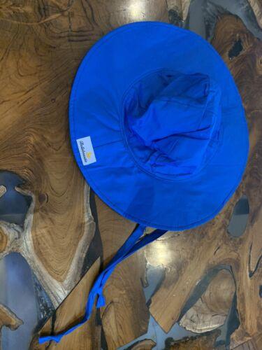 blue sun hat size medium kids