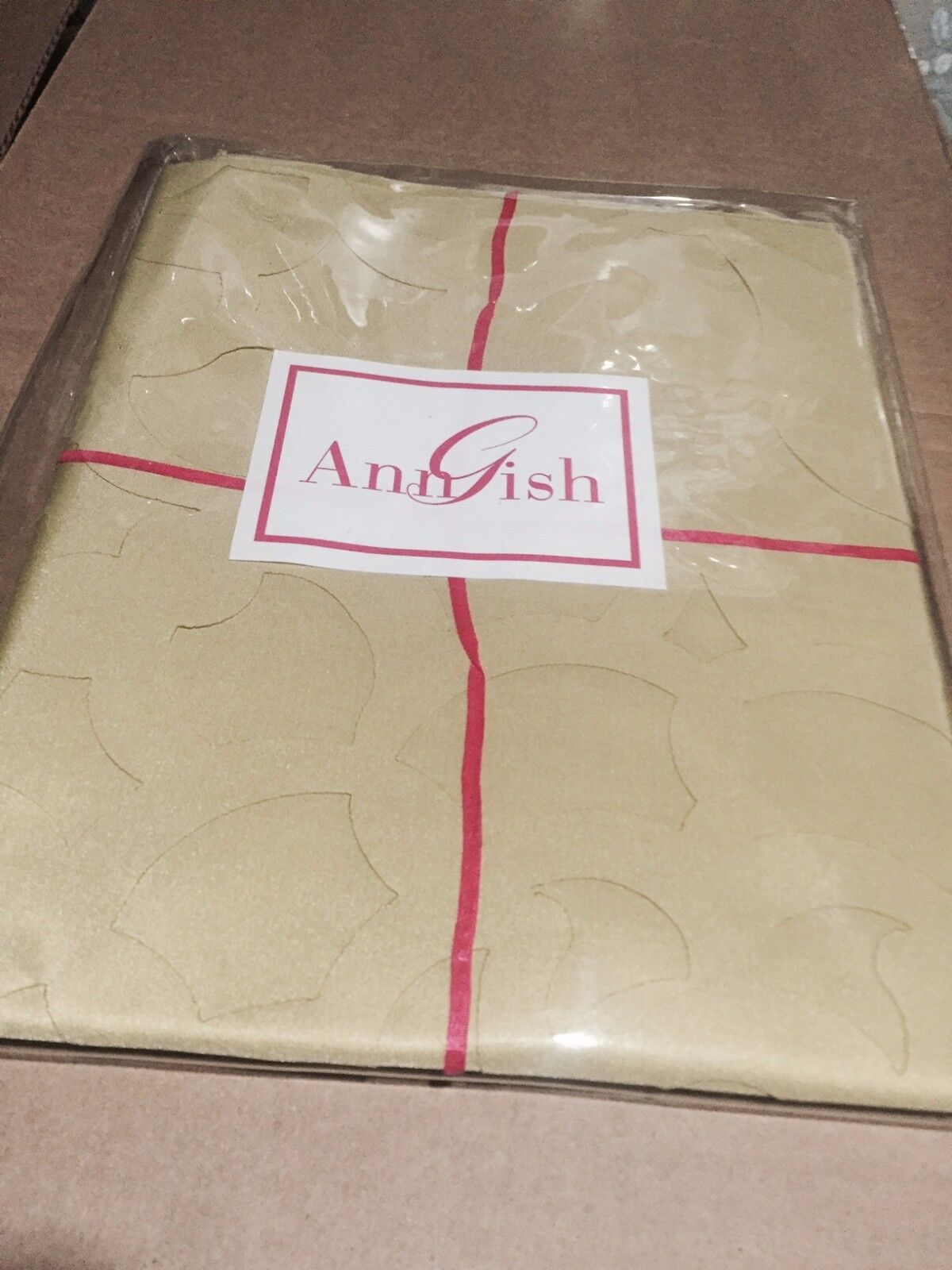 $225! NWT Ann Gish Pom Pom Apple Green Standard Pillow Sham - GORGEOUS!