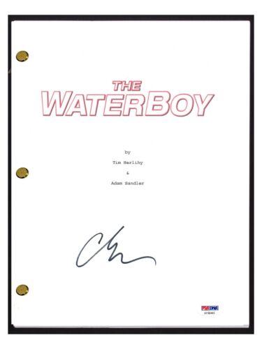 Adam Sandler Signed Autographed THE WATERBOY Movie Script PSA/DNA COA