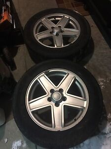 2 2007 Jeep Compass tires and rims