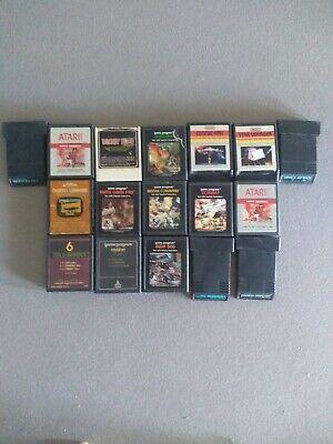 Atari 2600 Lot Of 17 Games