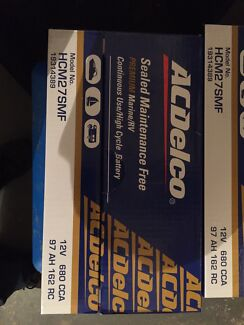 AC Delco Deep Cycle Battery HCM27SMF Boats Cars 4WD Walkley Heights Salisbury Area Preview