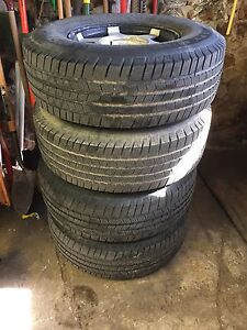 5 tires and rims 265 75 r16