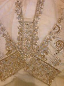Women embroidered dresses elegant handwork eastern style As new