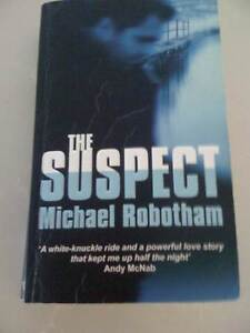 BOOK/THE SUSPECT/MICHAEL ROBOTHAM/PAPERBACK/THRILLER South Perth South Perth Area Preview