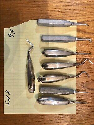 Used Dentist Hand Tools Lot Dental Surgical Tools