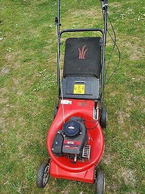 MTD 383SP Petrol Lawnmower With Grass Collector Briggs And Stratton