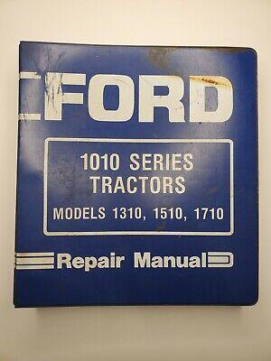 Ford 1010 Series 1310 1510 1710 Tractor Service Manual Repair Shop Book Binder